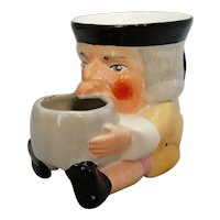English porcelain Shaving Mug Vintage 20th Century.