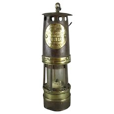 Ackroyd & Best Leeds Hailwood Minors Lamp With Ceramic Wick Antique c1925