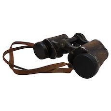 German Pair Of Carl Zeiss Silvarem 6 x 30 Binoculars Vintage c.1930s.