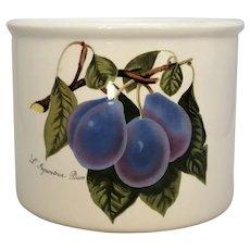 English Porcelain Planter Vintage 20th Century.