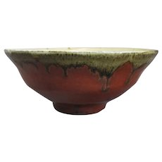 Studio Pottery Stoneware Bowl by Mike Dodd Vintage
