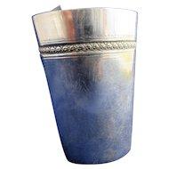 Sterling Silver Shot Glass Hallmarked Antique c1890
