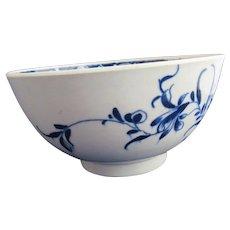 English Porcelain Worcester Bowl Antique c1770