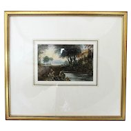 Victorian English Landscape Watercolour by Charles Smith Varley (1811-1888)
