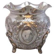 Silver Plate Planter Antique Victorian c.1880