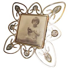 Beautiful Antique Art Nouveau Photo Frame c1905.