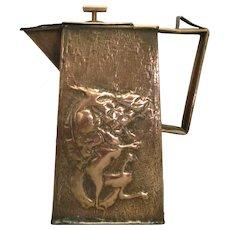 Copper Arts & Crafts Jug Antique c.1900.