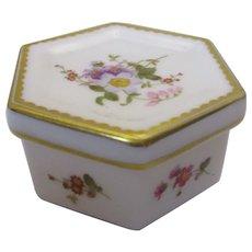 Royal Crown Derby Trinket Box Vintage c1993.