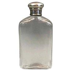 Sterling Silver Top Scent Bottle Antique London 1881