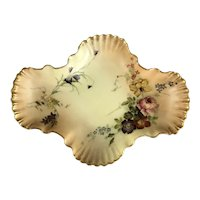 Royal Worcester Dish Antique Victorian c1900