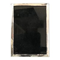 Sterling Silver And Wood Photo Frame Samuel M Levi Birmingham Antique Victorian 1901