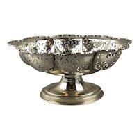 Sterling Silver Bon Bon Dish Blanckensee Birmingham Art Deco Vintage c1923