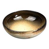 Hugh West Pottery Bowl Carnon Downs Truro Cornwall Vintage c1985