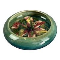 Ceramic Pottery Bowl By Moorcroft Antique Art Deco c1930