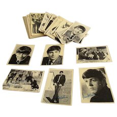 Original A&BC The Beatles Complete Set Of First Series Sixty Trading Cards