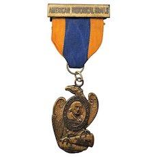 Vintage Benjamin Franklin Historical Trails Medallion-Union Fire Co. 1975
