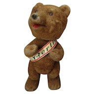 Souvenir Bear from Berlin with Moving Head Vintage 1950s.
