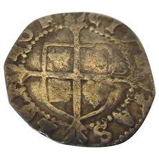 Antique Elizabeth I Penny 6th Issue c1558-1603.