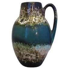 West German Ceramic Art Pottery Vase Vintage c.1960-c.1970.