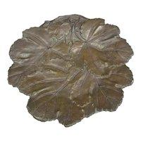 Cast Bronze Coalbrookdale Bowl Antique Victorian c1860