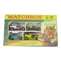 Set Of Boxed Vintage Toy Cars Vintage c1970
