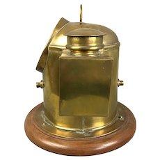 Brass Ship's Lifeboat Binnacle Compass Antique c1900