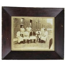 Original Framed Photograph 'Lipton's Grocery & Coffee Bars' Antique c1900