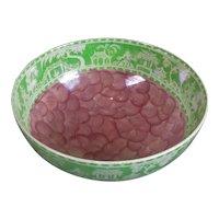 Maling Art Deco Lustre Ware Bowl Vintage c1950