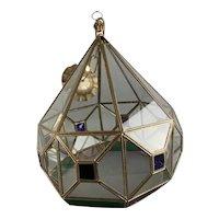 Larger Ornate Granada Lamp Vintage c1950