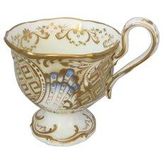Antique 19th Century Royal Worcester Grainger Cabinet Cup.