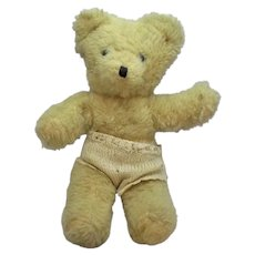 Teddy With Hand Knitted Shorts Vintage 20th Century.