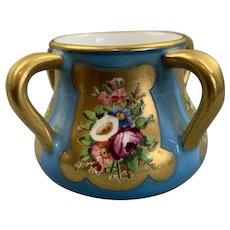 Coalport Porcelain 4 Handles Cup George V Edwardian c 1912