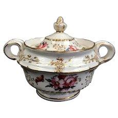 Small Porcelain Tureen Antique c1880