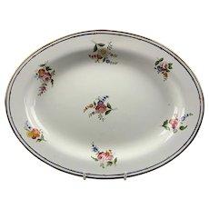 Oval Wedgwood Plate Antique Georgian c1820