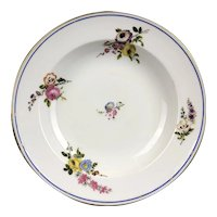 Early 19th Century Signed Sevres Porcelain Plate French Antique Georgian c1820
