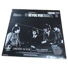 English Vinyl LP Revolver By The Beatles Vintage c.1966.