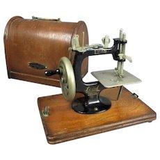 Child's 'Lead' Sewing Machine MK1 Japan Vintage c1933