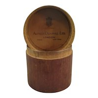 Alfred Dunhill Wooden Cigar Box Vintage c1950