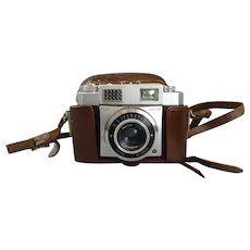 Karl Zeiss Ikon Contina III Camera in Case Vintage c1955