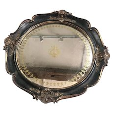 Drinks Tray Or Hanging Mirror Vintage c1930