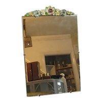 Barbola Table Top Mirror Vintage c1960