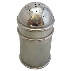 English Sterling Silver Pepper Pot Antique c.1901.