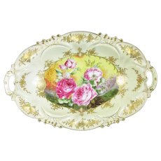 Continental Two Handled 'Victoria' Bowl Antique c1900