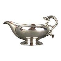Silver Plate Aladdin Lamp Shaped Milk Jug Or Creamer Vintage