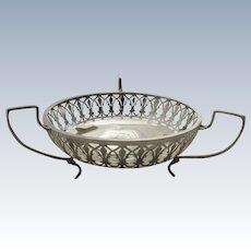 English Sterling Silver Bowl Antique Birmingham 1919
