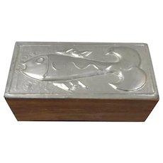 Liberty Of London Pewter Trinket Box 21th Century