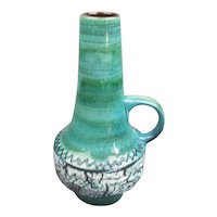 West German Carstens Ufo Vase Vintage Mid century c1960