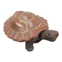 Yixing Purple Clay Tortoise Vintage c1980