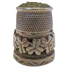 Vintage Silver Thimble by Henry Griffiths Chester c1921.