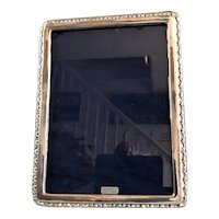 Sterling Silver Picture Frame WF London Vintage